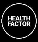 Healthfactor – Fitness en groepslessen voor iedereen! Logo